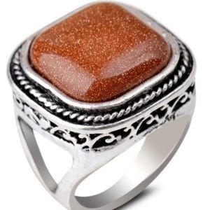 Jewelry - Goldstone Ring